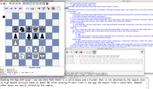Modern technologies applied to chess.
